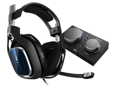 Photo of ASTRO Gaming A40 Headset Inc MixAmp Pro TR - Black