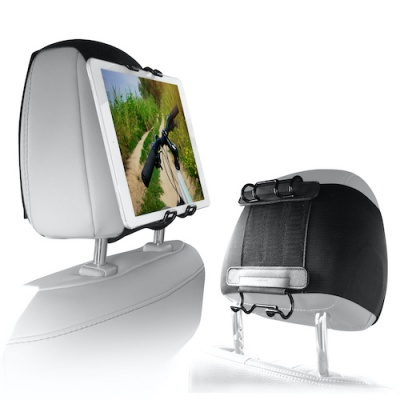 Photo of Macally - Car Headrest Strap for all Tablets and iPads