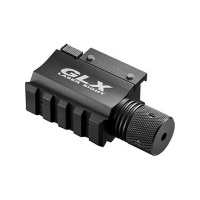glx red laser with built in mount and rail hunting accessory