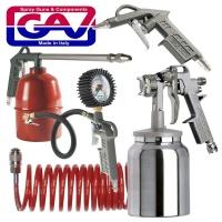 gav spray gun kit 5piece w162b kit