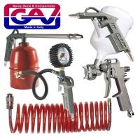 gav spray gun kit 5piece w162a kit