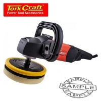 tork craft polisher 1700w cw 7 hook and loop m14 backing power tool