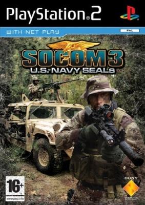 Photo of SOCOM 3: U.S. Navy SEALs PS2 Game