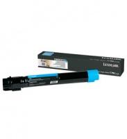 lexmark c950de cyan extra high yeild toner cartridge 22 000