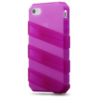 cooler master claw case for iphone 4 s translucent pink