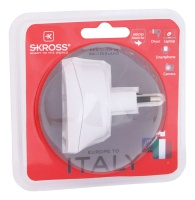 skross europe to italy travel adaptor
