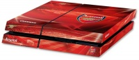 official arsenal fc playstation 4 console skin ps4
