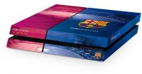 official barcelona fc playstation 4 console skin ps4