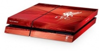 official liverpool fc playstation 4 console skin ps4