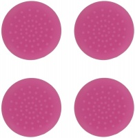 assecure tpu thumb grips pink ps4