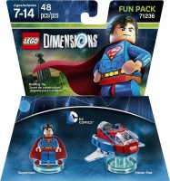 lego dimensions 1 dc superman fun pack for ps3ps4xbox