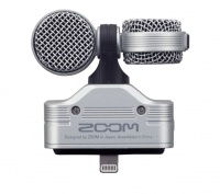 zoom iq7 microphone for iphone silver