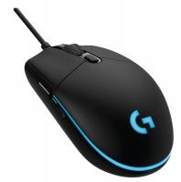 logitech pro usb optical 12000dpi right hand mouse black