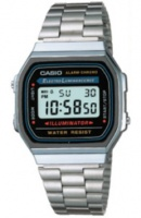 casio a168wa bracelet watch running walking equipment