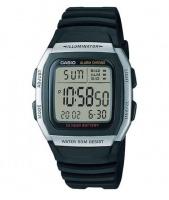 casio 10 year battery 50m wr digital watch black running walking equipment