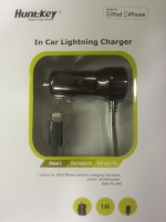 huntkey iphone 5 car charger 5v1a mobile device