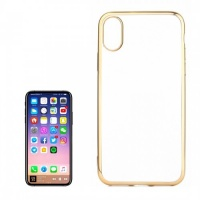 tuff luv tpu protective back cover case for apple iphone x