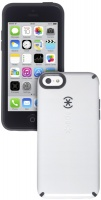 speck candyshell case for apple iphone 5c white and grey