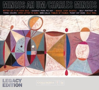 Photo of Charles Mingus - Ah Hum - Limited Edition In Solid Blue Colored Vinyl.