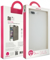 ozaki ocoat 04 jelly case for apple iphone 7 plus clear
