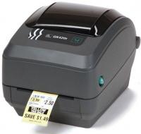 zebra gk 420 203dpi dt printer w serial parallel and usb