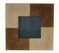 adesso suede leather picture frame file folders accessory