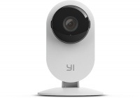yi smart home static 1080p 130 micro sd slot camera white