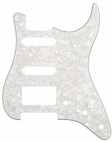 Allparts Electric Guitar 11 Hole 3 Ply Pickgaurd for Fender Stratocaster HSS Style Guitars