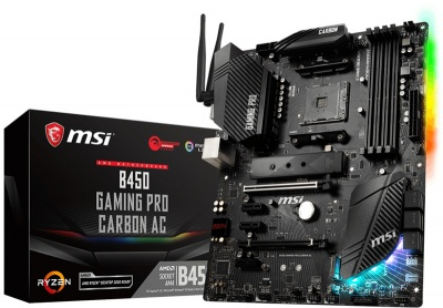 Photo of MSI B450 AM4 Intel Motherboard