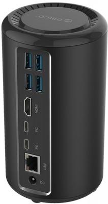 Photo of Orico USB Type-C HDMI/RJ45/USB 3.0 Docking Station - Black