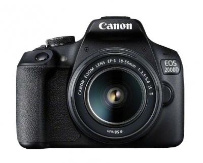 Photo of Canon - 2000D BK 18-55 IS SB130 16GB EU26 Digital Camera