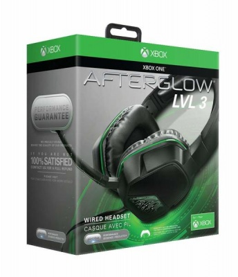 Photo of PDP Afterglow LVL 3 Binaural Head-band Black headset Stereo Headset for Xbox One