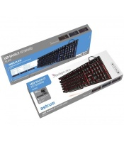 astrum a80561 b kl610 backlit led gaming keyboard wired