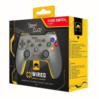 steelplay wired controller classic grey nintendo switch