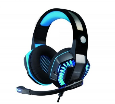 Photo of Toshiba RZE-G902H Virtual 7.1 Gaming Headset with Mic - Blue