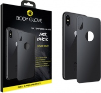 body glove tempered glass back protector for apple iphone x