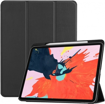 Photo of Tuff Luv Tuff-Luv Smart Leather Case with Type View Stand for Apple iPad Pro 11 2018 - Black