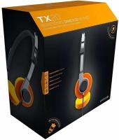 gioteck tx20 retro stereo game and go headset orange xbox electronic