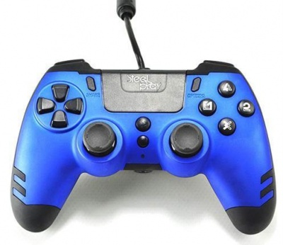 Photo of Steelplay - MetalTech Wired Controller - Blue