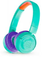 jbl jr300bt kids teal headset