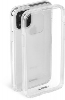 krusell kivik series case for apple iphone 11 pro clear