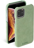 krusell broby series case for apple iphone 11 pro olive