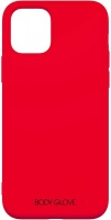 body glove silk case for apple iphone 11 red