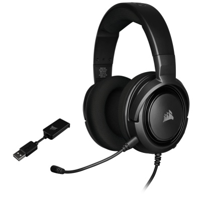 Photo of Corsair HS45 SURROUND Gaming Headset - Carbon