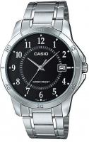 casio stainless steel analog mens wrist watch silver and running walking equipment