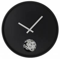 George Mason George Mason Cenova Open Dial Wall Clock Black