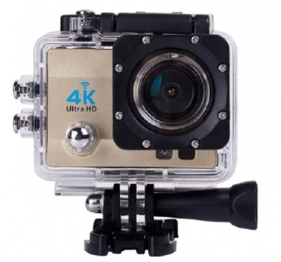 4K Wifi Action Camera Gold