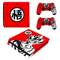 skin nit decal for ps4 slim dragon ball z