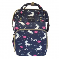 Backpack Nappy Bag Unicorn Navy