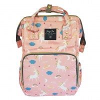 Backpack Nappy Bag Unicorn Salmon